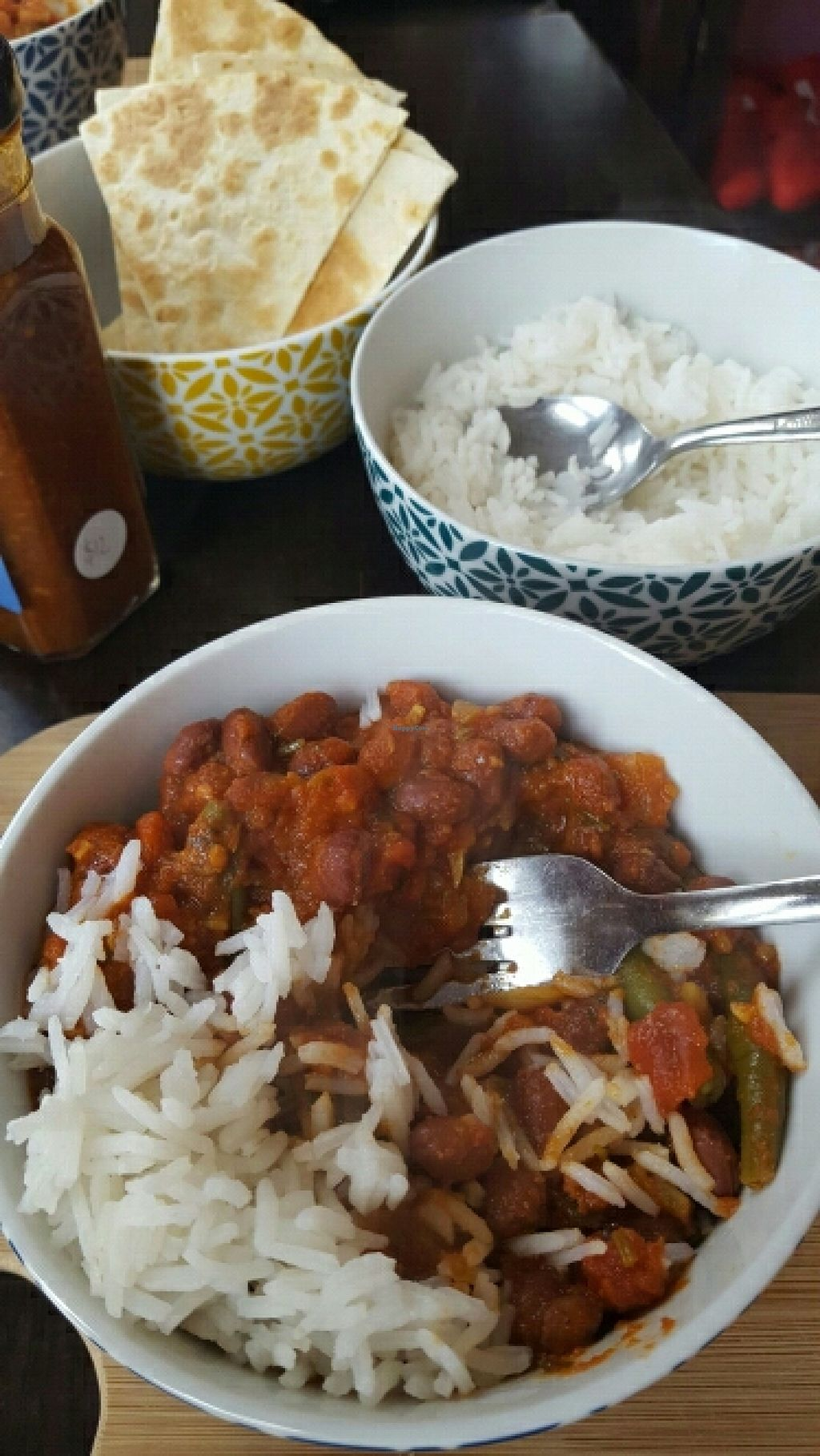 """Photo of CLOSED: Pomegranate  by <a href=""""/members/profile/jodiveganfit"""">jodiveganfit</a> <br/>Rajma Curry <br/> June 6, 2016  - <a href='/contact/abuse/image/54464/152469'>Report</a>"""