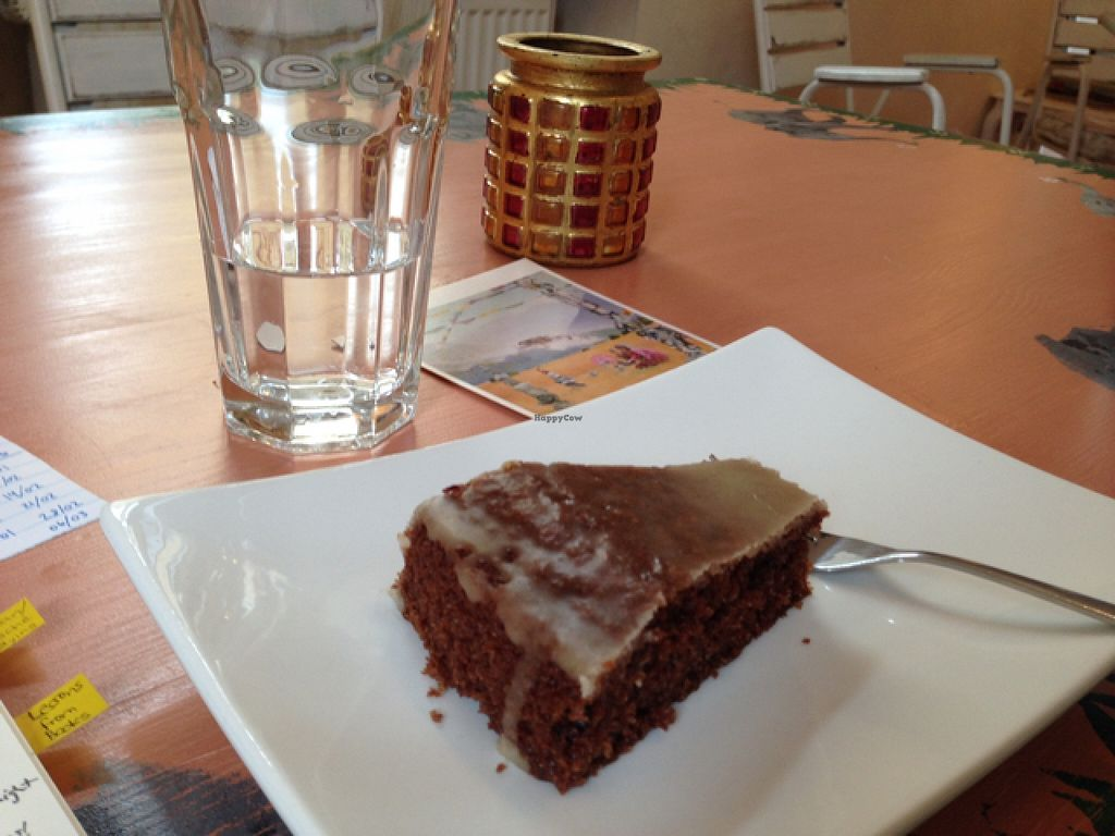 """Photo of Kunstklamm16  by <a href=""""/members/profile/Shanthlete"""">Shanthlete</a> <br/>Vegan chocolate cake; perfect balance of flavour and density <br/> September 22, 2015  - <a href='/contact/abuse/image/54477/118756'>Report</a>"""