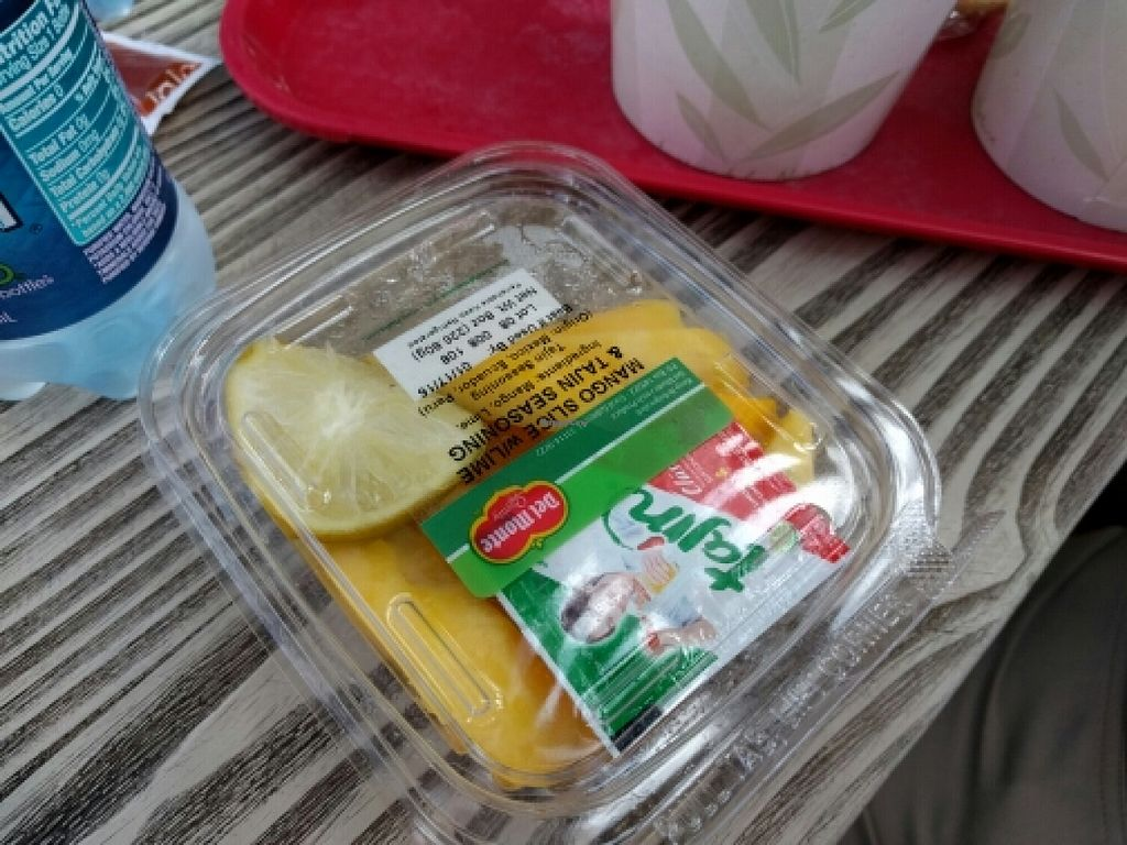 """Photo of Disneyland - Lucky Fortune Cookery  by <a href=""""/members/profile/The%20Hungry%20Vegan"""">The Hungry Vegan</a> <br/>Do not order these mangoes <br/> January 16, 2016  - <a href='/contact/abuse/image/54489/132661'>Report</a>"""