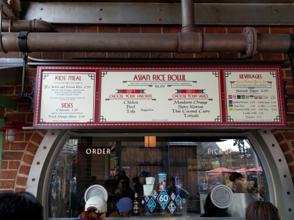 """Photo of Disneyland - Lucky Fortune Cookery  by <a href=""""/members/profile/The%20Hungry%20Vegan"""">The Hungry Vegan</a> <br/>Menu <br/> January 16, 2016  - <a href='/contact/abuse/image/54489/132662'>Report</a>"""