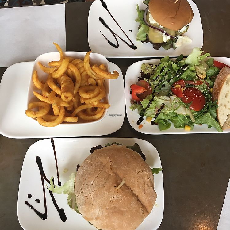"""Photo of Valladares  by <a href=""""/members/profile/TrinityGleck"""">TrinityGleck</a> <br/>cheese burger, Mexican guacamole burger and small mixed salad  <br/> June 20, 2017  - <a href='/contact/abuse/image/54507/271321'>Report</a>"""