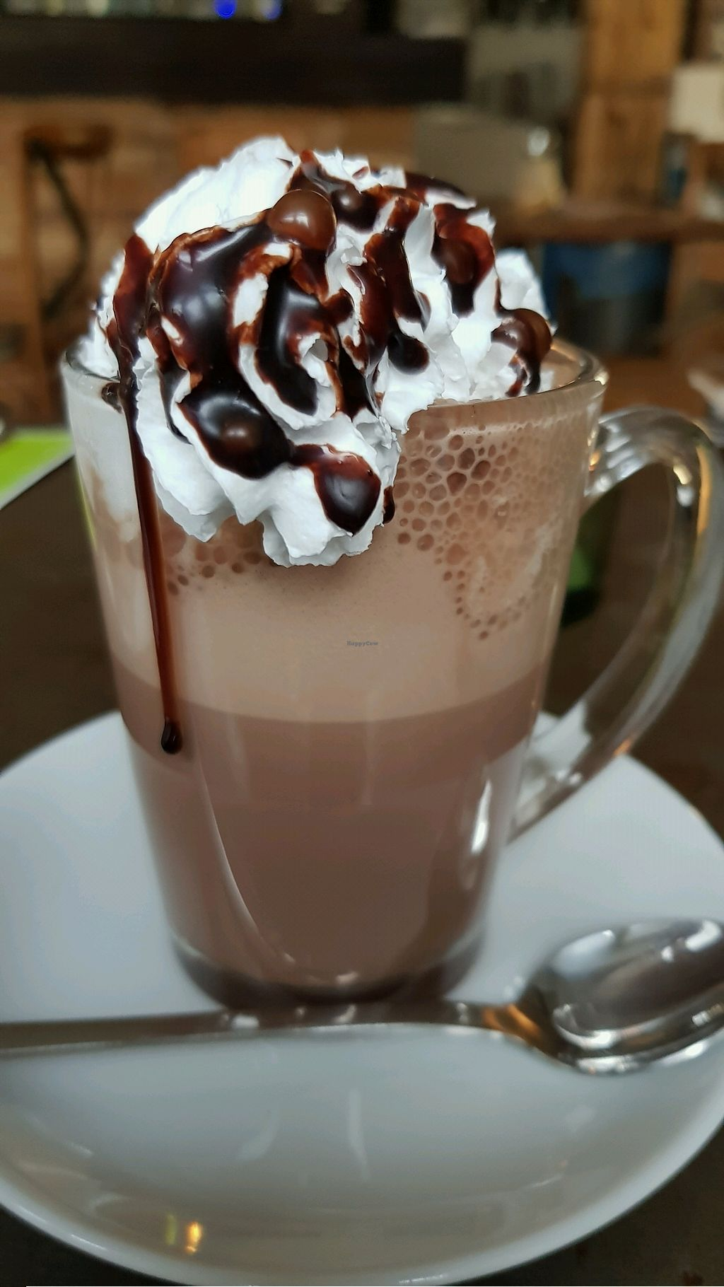 """Photo of Valladares  by <a href=""""/members/profile/Tank242"""">Tank242</a> <br/>Hot Chocolate with vegan cream  <br/> November 12, 2017  - <a href='/contact/abuse/image/54507/324629'>Report</a>"""