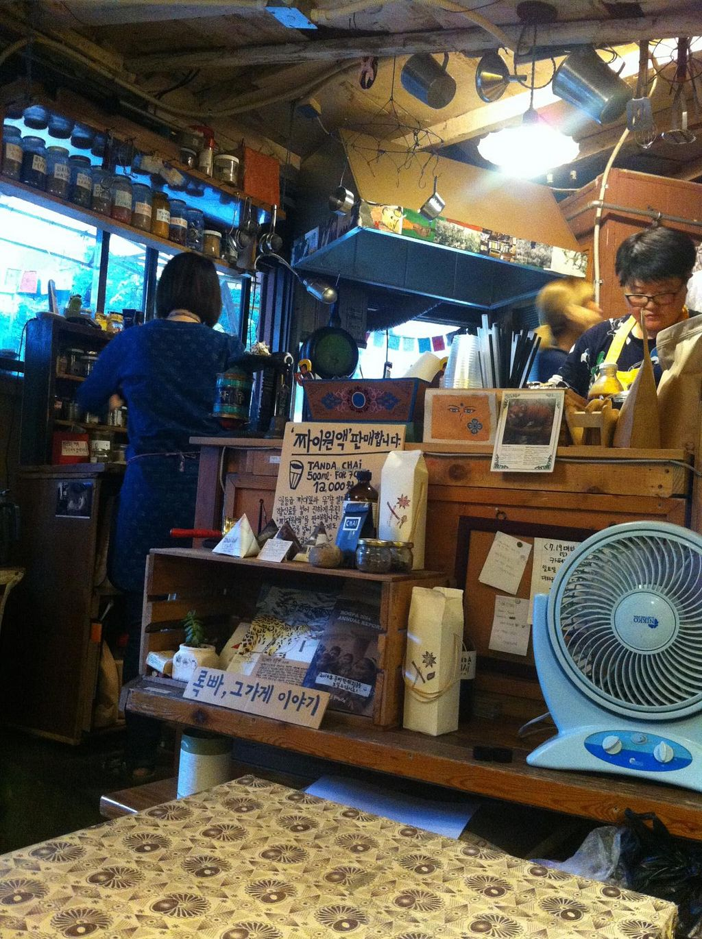 """Photo of The Store Sajik-dong - 사직동 그 가게  by <a href=""""/members/profile/andrea.linnea"""">andrea.linnea</a> <br/>The kitchen  <br/> July 21, 2015  - <a href='/contact/abuse/image/54509/110382'>Report</a>"""
