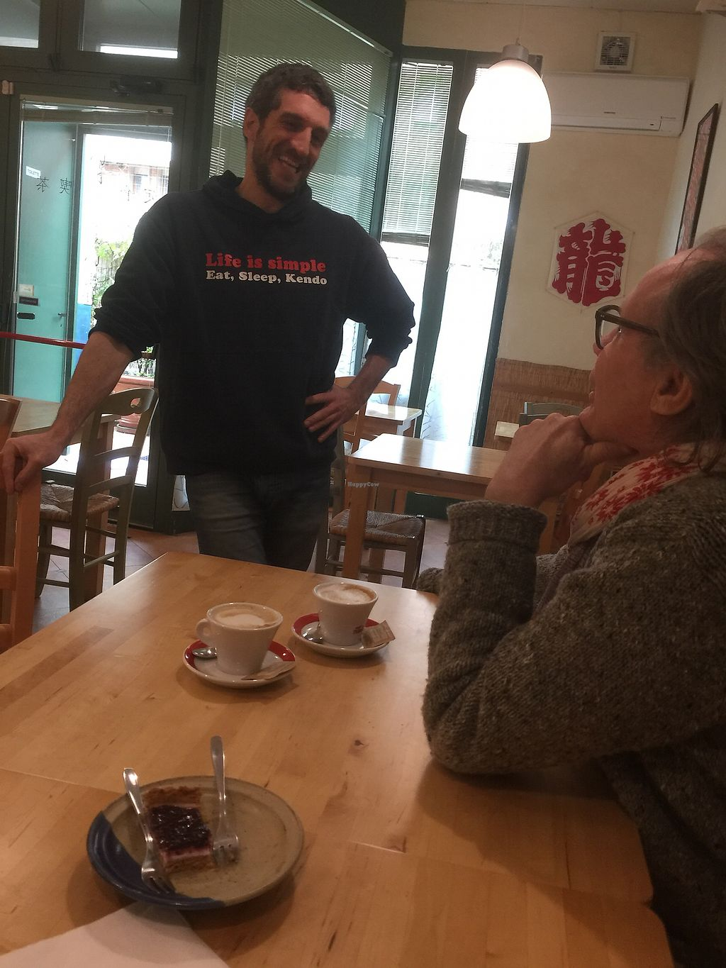 """Photo of TerraViva  by <a href=""""/members/profile/johannabernarda"""">johannabernarda</a> <br/>Good coffee with sou milk and very friendly owner! <br/> March 19, 2018  - <a href='/contact/abuse/image/54511/372834'>Report</a>"""