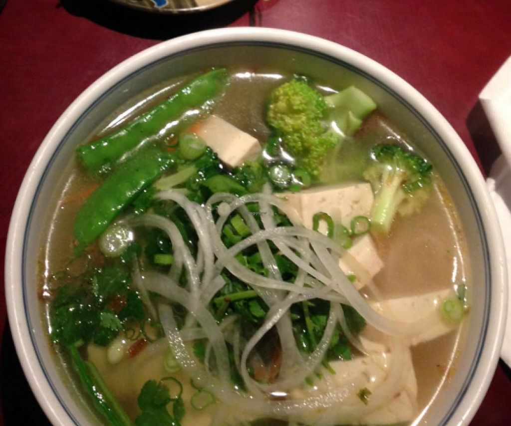 "Photo of Indochine  by <a href=""/members/profile/tcasalena"">tcasalena</a> <br/>pho with vegan broth <br/> January 16, 2015  - <a href='/contact/abuse/image/54516/201588'>Report</a>"