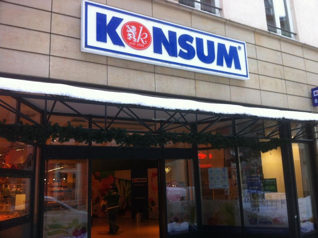 """Photo of Konsum  by <a href=""""/members/profile/J-Veg"""">J-Veg</a> <br/>The outside of the store <br/> January 12, 2015  - <a href='/contact/abuse/image/54531/90177'>Report</a>"""
