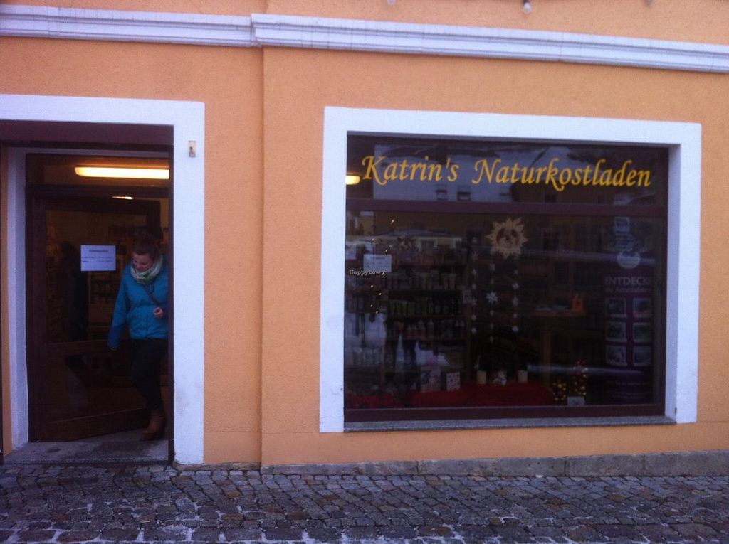 """Photo of Karin's Naturkostladen  by <a href=""""/members/profile/J-Veg"""">J-Veg</a> <br/>Outside <br/> January 12, 2015  - <a href='/contact/abuse/image/54534/90176'>Report</a>"""