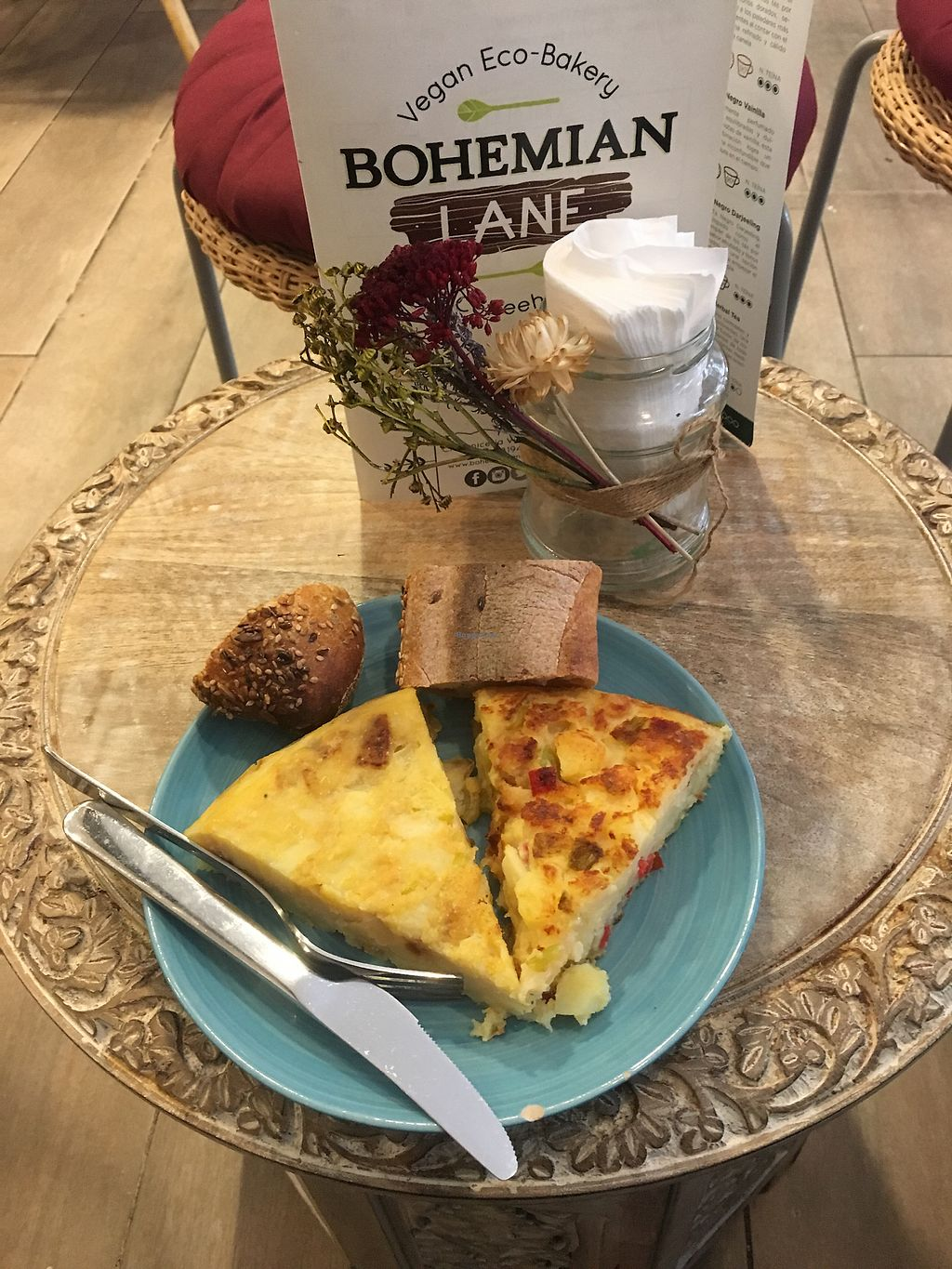 """Photo of Bohemian Lane  by <a href=""""/members/profile/MissRadish"""">MissRadish</a> <br/>Tasty Tortilla! <br/> July 6, 2017  - <a href='/contact/abuse/image/54543/277136'>Report</a>"""