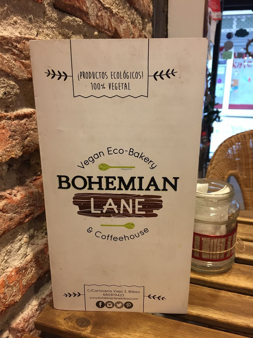 """Photo of Bohemian Lane  by <a href=""""/members/profile/StevieSurf"""">StevieSurf</a> <br/>Cafe details  <br/> December 24, 2017  - <a href='/contact/abuse/image/54543/338640'>Report</a>"""