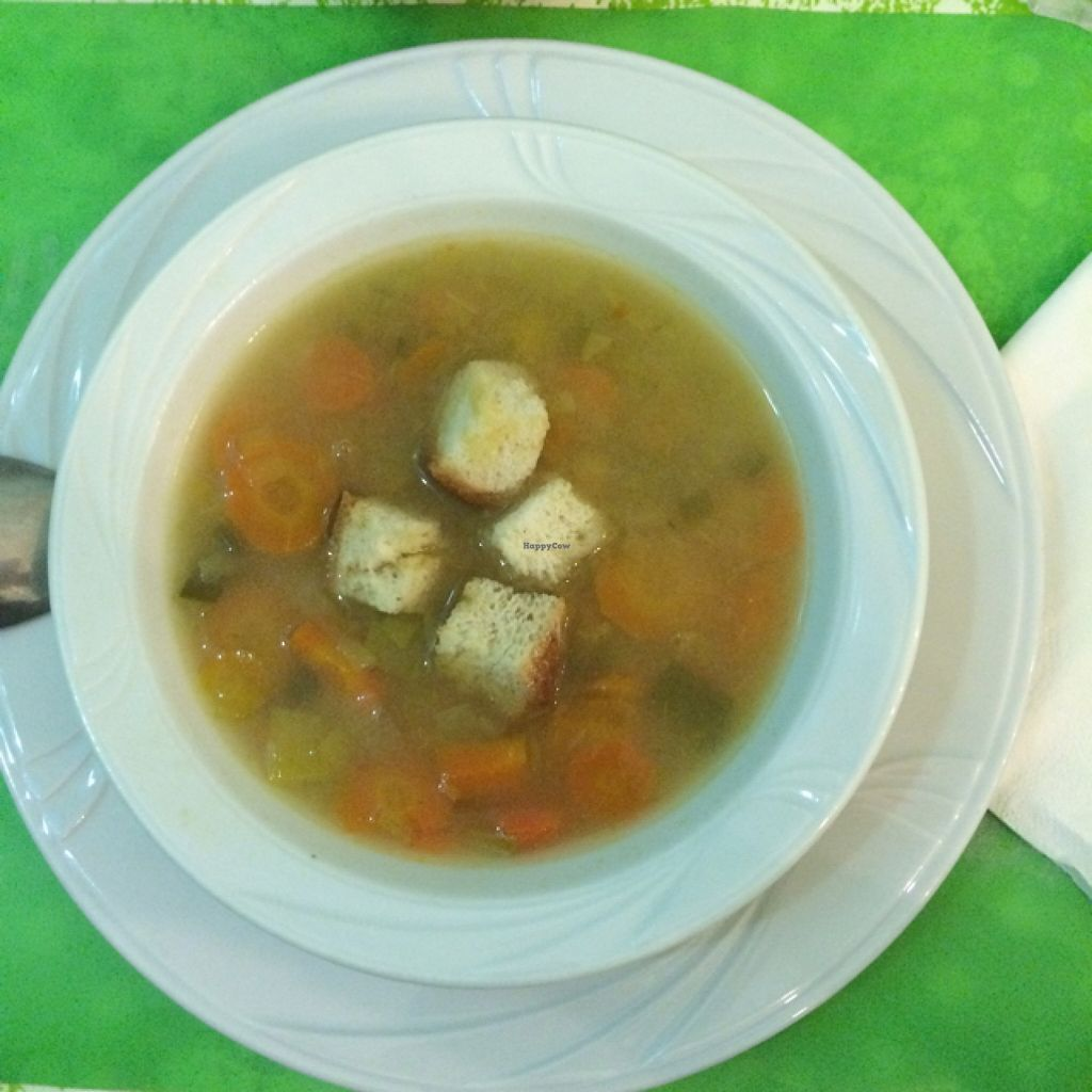 """Photo of Welcome Bistrot  by <a href=""""/members/profile/Arkie"""">Arkie</a> <br/>vegetable soup <br/> January 8, 2016  - <a href='/contact/abuse/image/54573/131498'>Report</a>"""