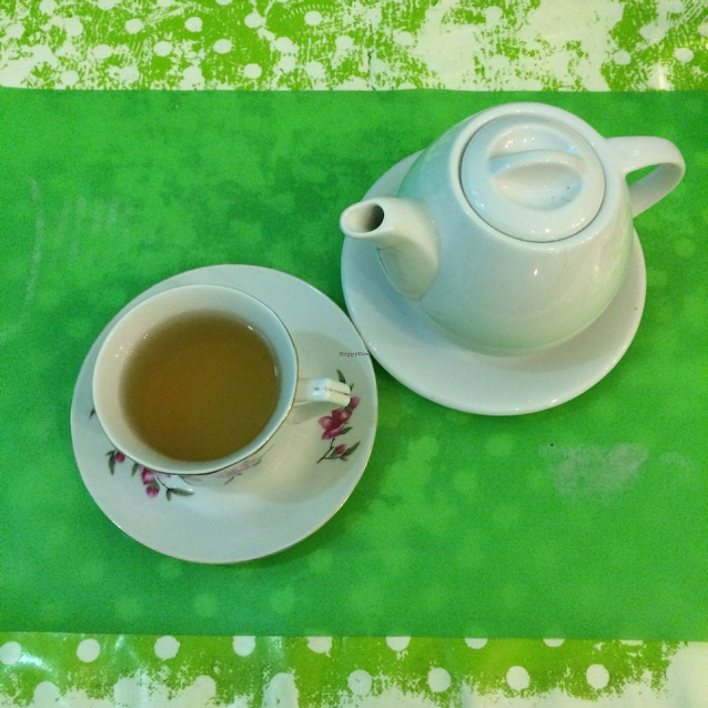 """Photo of Welcome Bistrot  by <a href=""""/members/profile/Arkie"""">Arkie</a> <br/>A digestive cup of fennel tea <br/> January 8, 2016  - <a href='/contact/abuse/image/54573/131502'>Report</a>"""