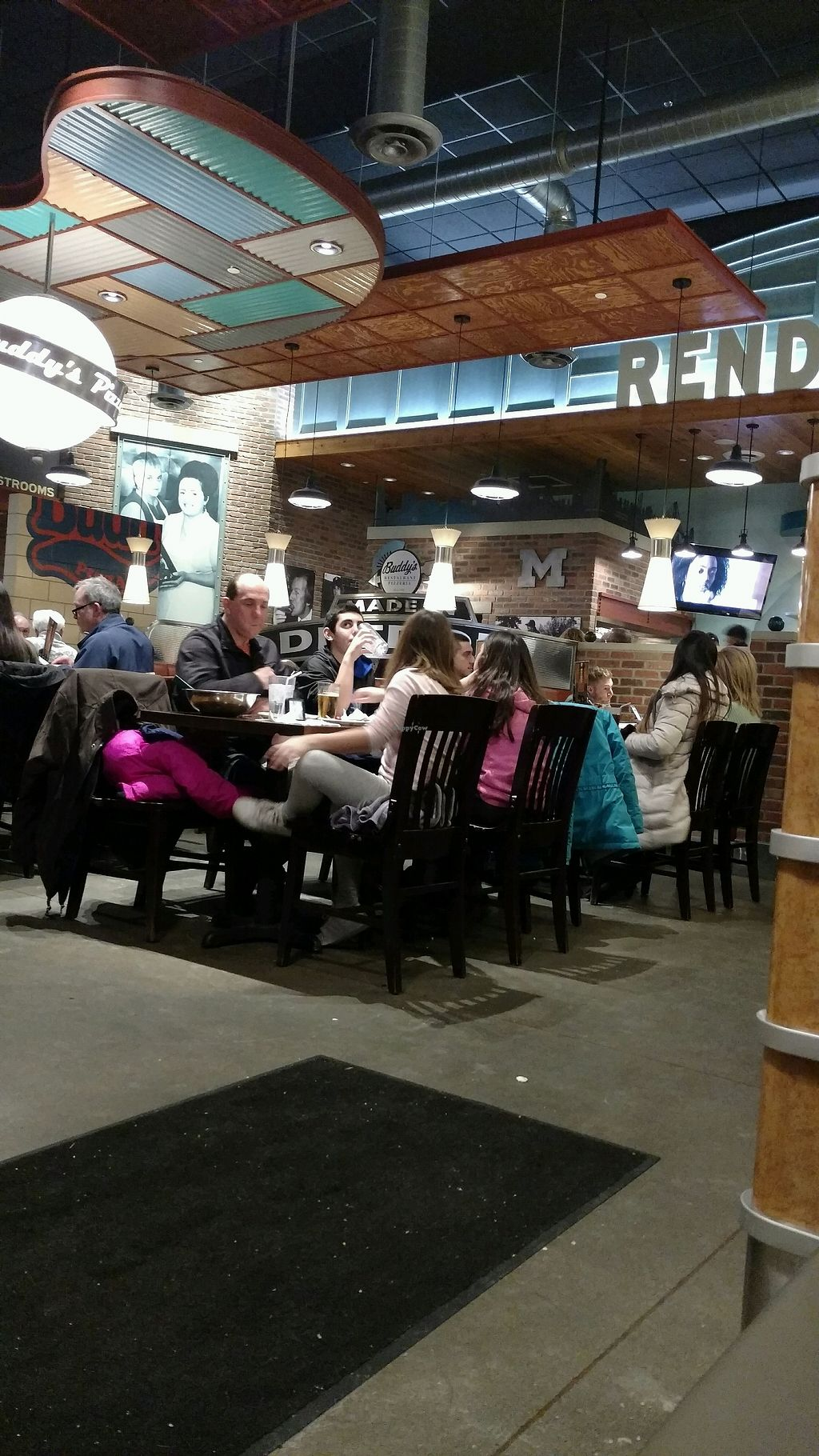 "Photo of Buddy's Pizzeria  by <a href=""/members/profile/Queensnake88"">Queensnake88</a> <br/>busy and messy <br/> February 24, 2018  - <a href='/contact/abuse/image/54577/363019'>Report</a>"