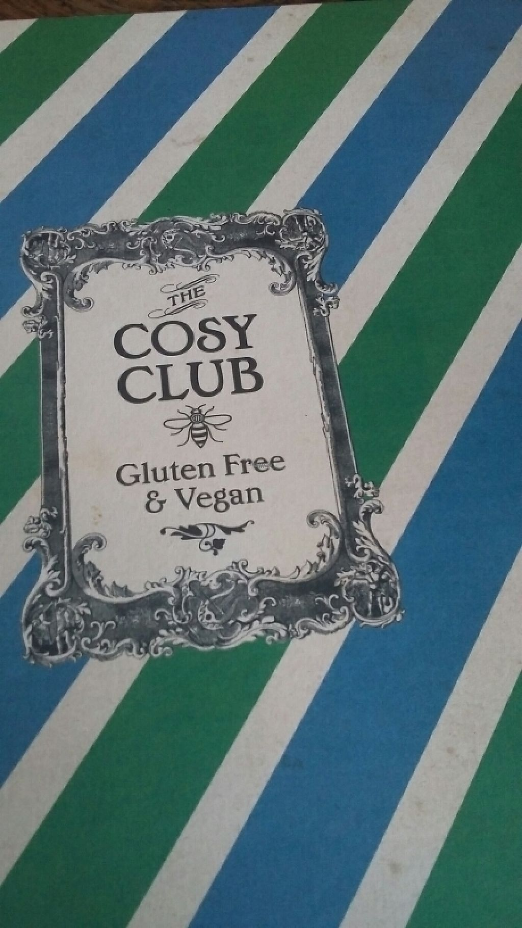 "Photo of The Cosy Club  by <a href=""/members/profile/Vegan-Vinyl-Avengers"">Vegan-Vinyl-Avengers</a> <br/>Cosy Club <br/> November 27, 2016  - <a href='/contact/abuse/image/54595/195136'>Report</a>"