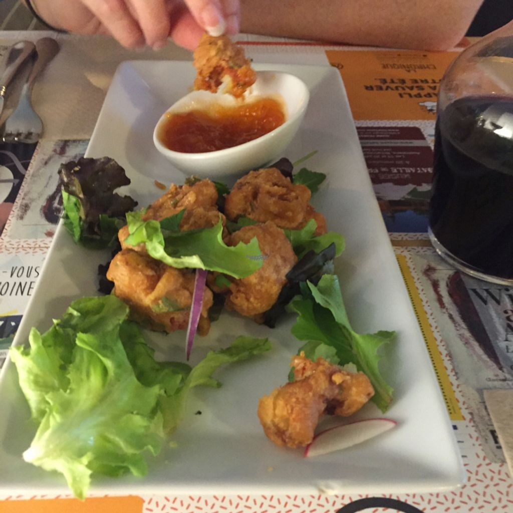 """Photo of Mezzaluna  by <a href=""""/members/profile/SimTaenen"""">SimTaenen</a> <br/>batter fried cauliflower <br/> August 14, 2016  - <a href='/contact/abuse/image/54608/168462'>Report</a>"""