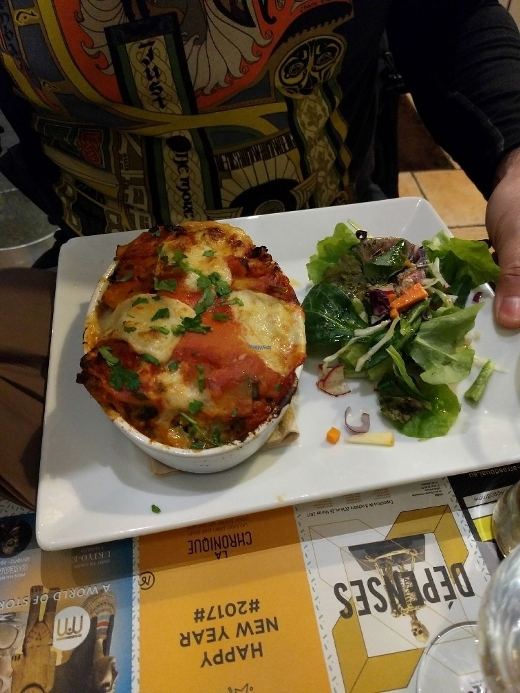 """Photo of Mezzaluna  by <a href=""""/members/profile/Shiru"""">Shiru</a> <br/>lasagna with leeks and cheese <br/> January 14, 2017  - <a href='/contact/abuse/image/54608/211993'>Report</a>"""