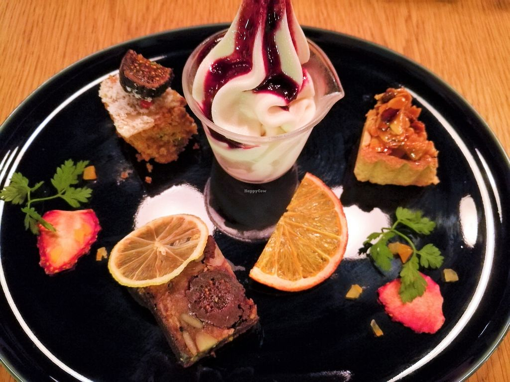 """Photo of 8ablish Cafe  by <a href=""""/members/profile/Vegan%20Yoko"""">Vegan Yoko</a> <br/>dessert of 5,000 yen course <br/> June 26, 2017  - <a href='/contact/abuse/image/54611/273512'>Report</a>"""