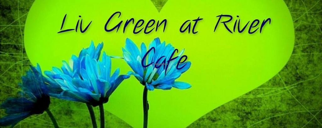 """Photo of CLOSED: Liv Green at River Cafe  by <a href=""""/members/profile/veg-geko"""">veg-geko</a> <br/>Liv Green at River Cafe <br/> January 24, 2015  - <a href='/contact/abuse/image/54614/91271'>Report</a>"""