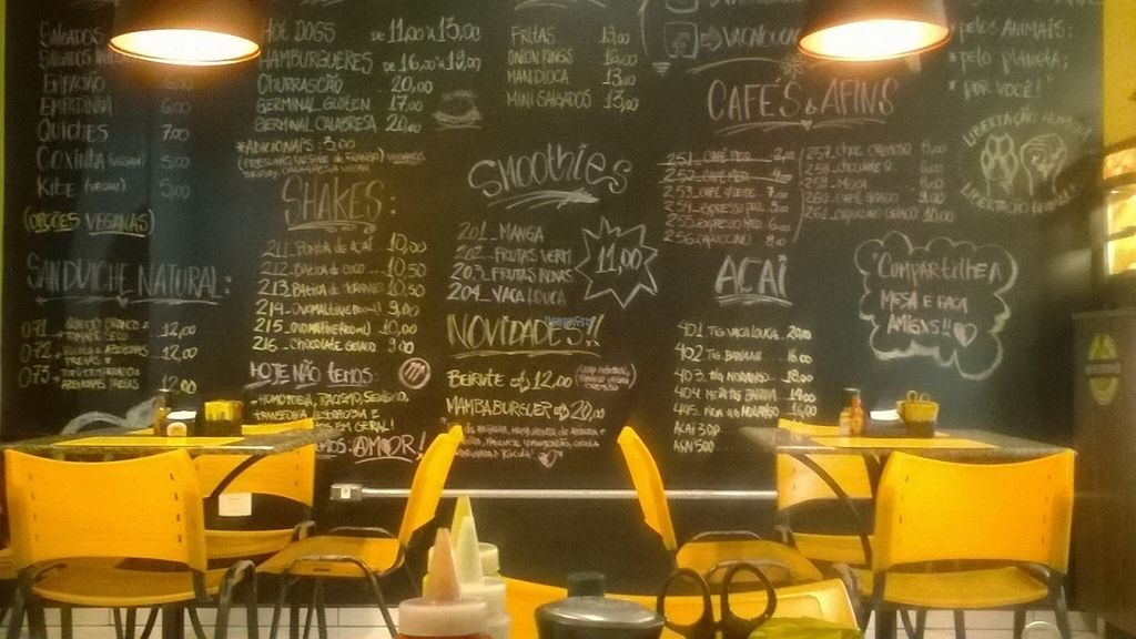 """Photo of Vaca Louca Cafe  by <a href=""""/members/profile/Rafael_Vegan_Atheist"""">Rafael_Vegan_Atheist</a> <br/>inside <br/> September 27, 2016  - <a href='/contact/abuse/image/54637/178234'>Report</a>"""
