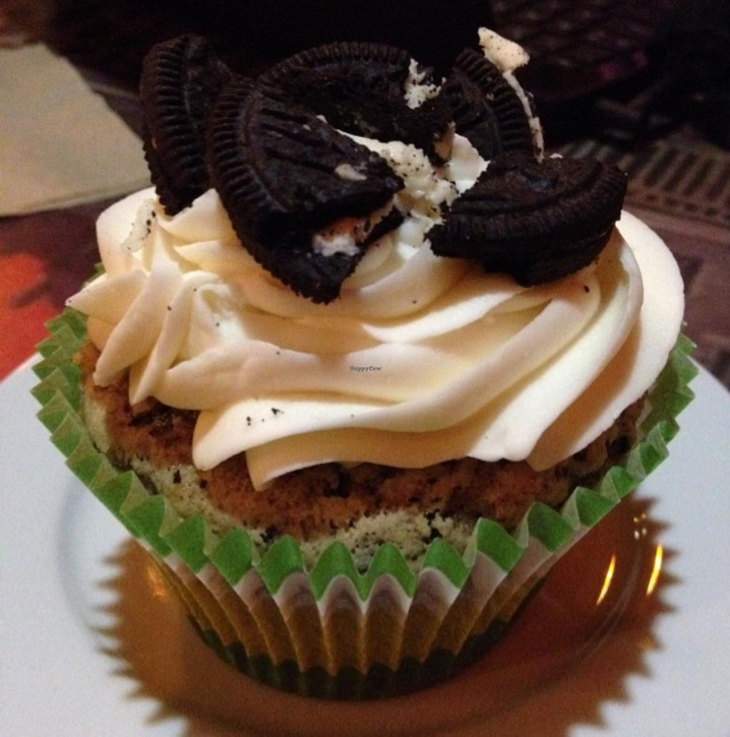 "Photo of Lestat's on Park  by <a href=""/members/profile/Tigra220"">Tigra220</a> <br/>vegan Cookies n' Cream cupcake  <br/> January 12, 2015  - <a href='/contact/abuse/image/54653/90268'>Report</a>"