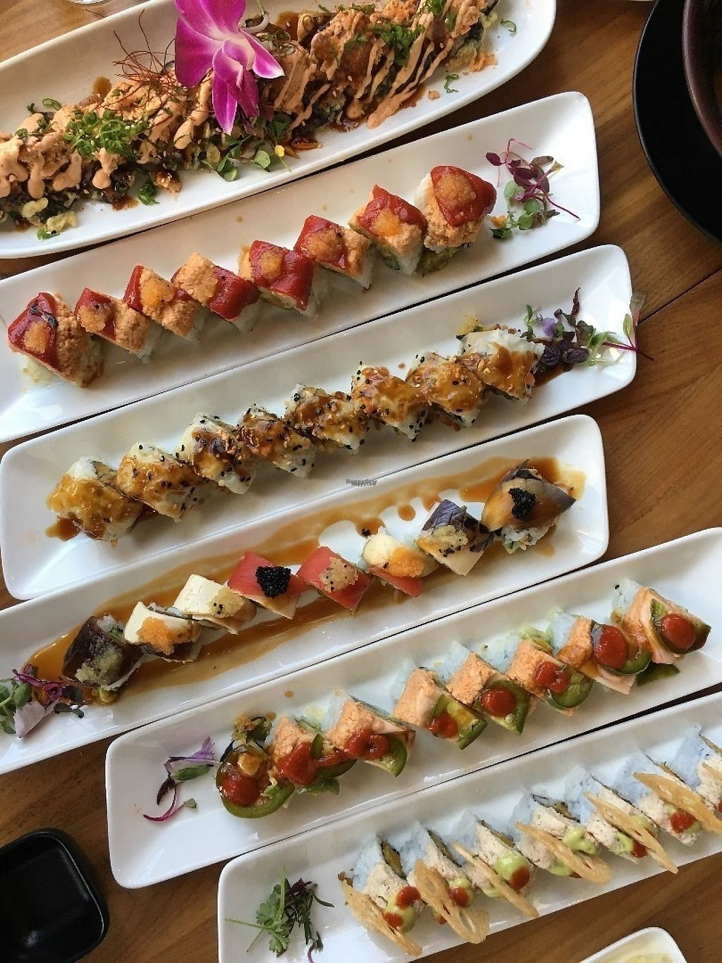 """Photo of Shizen Vegan Sushi Bar  by <a href=""""/members/profile/djoe"""">djoe</a> <br/>So creative and delicious! <br/> March 28, 2017  - <a href='/contact/abuse/image/54689/242083'>Report</a>"""