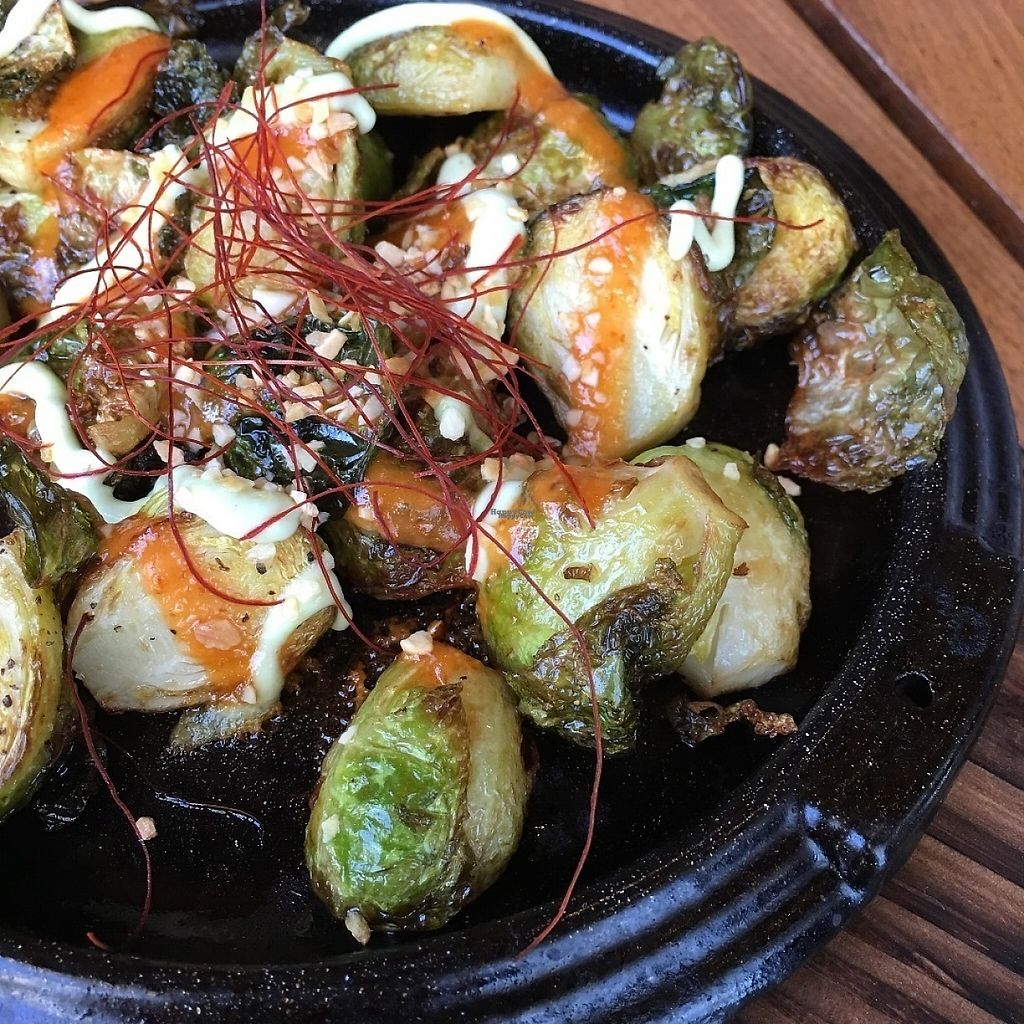 """Photo of Shizen Vegan Sushi Bar  by <a href=""""/members/profile/djoe"""">djoe</a> <br/>These were the best Brussels sprouts we have ever had! <br/> March 28, 2017  - <a href='/contact/abuse/image/54689/242085'>Report</a>"""