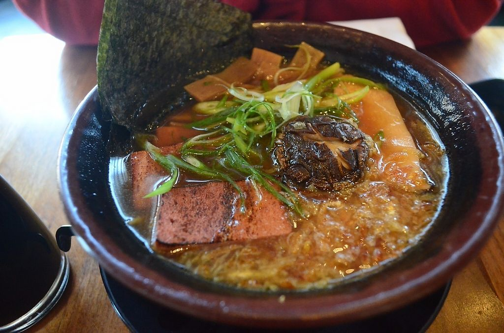 """Photo of Shizen Vegan Sushi Bar  by <a href=""""/members/profile/alexandra_vegan"""">alexandra_vegan</a> <br/>Their soy ramen is to die for! <br/> May 15, 2017  - <a href='/contact/abuse/image/54689/259174'>Report</a>"""