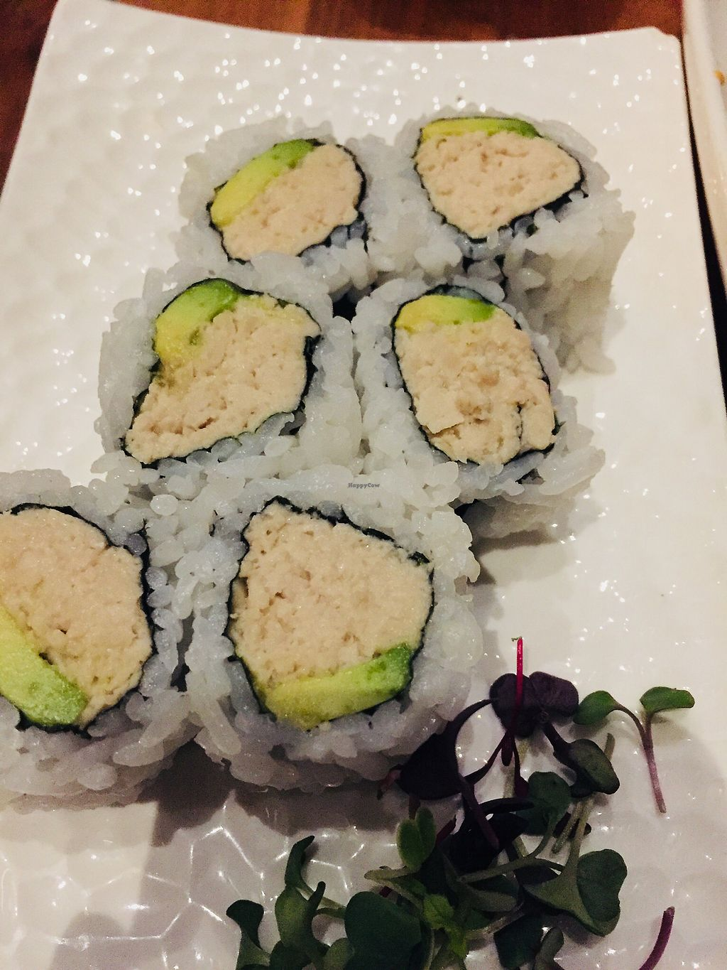 """Photo of Shizen Vegan Sushi Bar  by <a href=""""/members/profile/TheVeganNarwhal"""">TheVeganNarwhal</a> <br/>California roll <br/> February 12, 2018  - <a href='/contact/abuse/image/54689/358227'>Report</a>"""