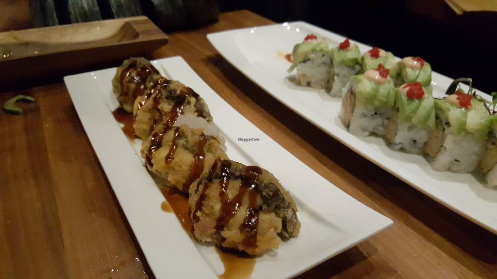 """Photo of Shizen Vegan Sushi Bar  by <a href=""""/members/profile/sarahssoares"""">sarahssoares</a> <br/>Something with shitake <br/> March 27, 2018  - <a href='/contact/abuse/image/54689/376790'>Report</a>"""