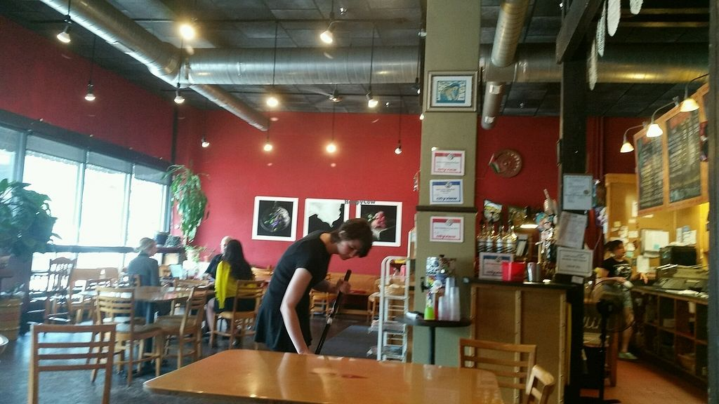"""Photo of Ritual Cafe  by <a href=""""/members/profile/timothyhammond"""">timothyhammond</a> <br/>The counter is behind the pillar <br/> June 29, 2017  - <a href='/contact/abuse/image/5468/274878'>Report</a>"""