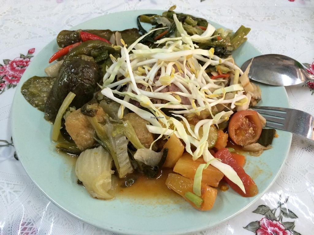 "Photo of Jay Vegetarian Restaurant  by <a href=""/members/profile/Plantpower"">Plantpower</a> <br/>Example for a selection of dishes <br/> March 23, 2015  - <a href='/contact/abuse/image/54690/96611'>Report</a>"