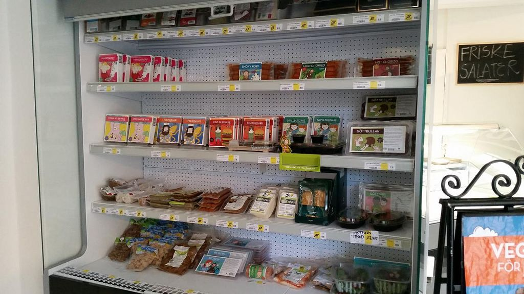 """Photo of CLOSED: Astrid och Aporna - Cph  by <a href=""""/members/profile/konlish"""">konlish</a> <br/>Deli cheese fridge section  <br/> May 21, 2015  - <a href='/contact/abuse/image/54710/102986'>Report</a>"""