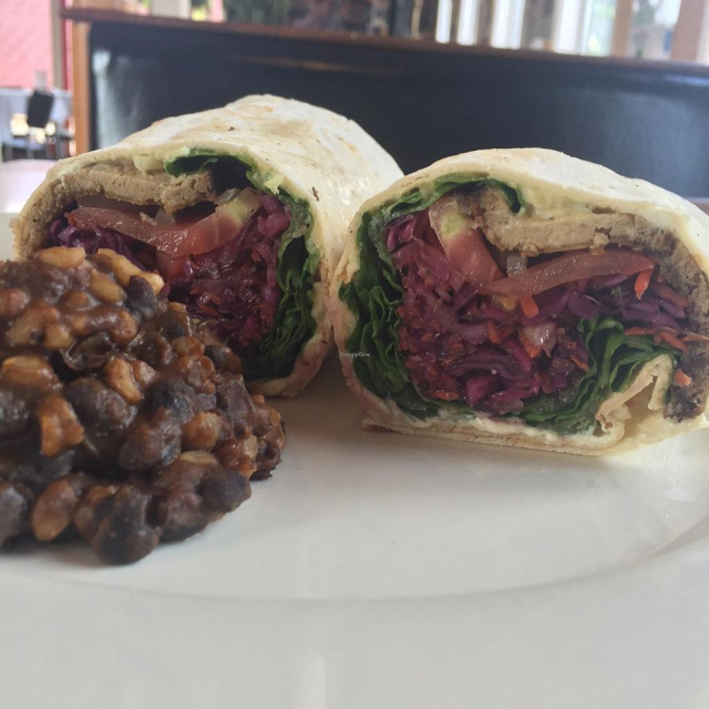 """Photo of Quickie Too  by <a href=""""/members/profile/Mrs_Rowe"""">Mrs_Rowe</a> <br/>smoked bbq wrap with rice and beans  <br/> July 16, 2015  - <a href='/contact/abuse/image/5473/109591'>Report</a>"""