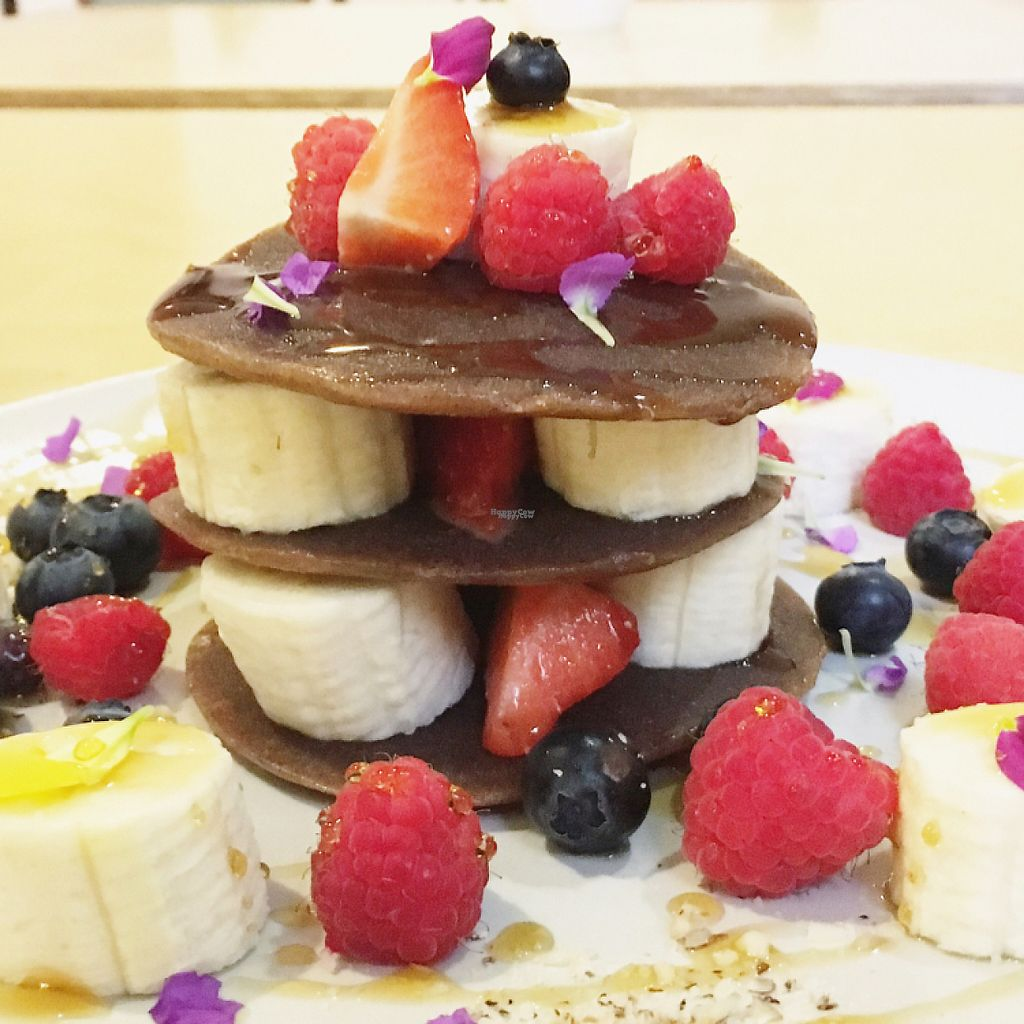 """Photo of Mantra Raw  by <a href=""""/members/profile/RobertaAbdanur"""">RobertaAbdanur</a> <br/>Raw Vegan Pancake  <br/> January 28, 2017  - <a href='/contact/abuse/image/54756/218462'>Report</a>"""