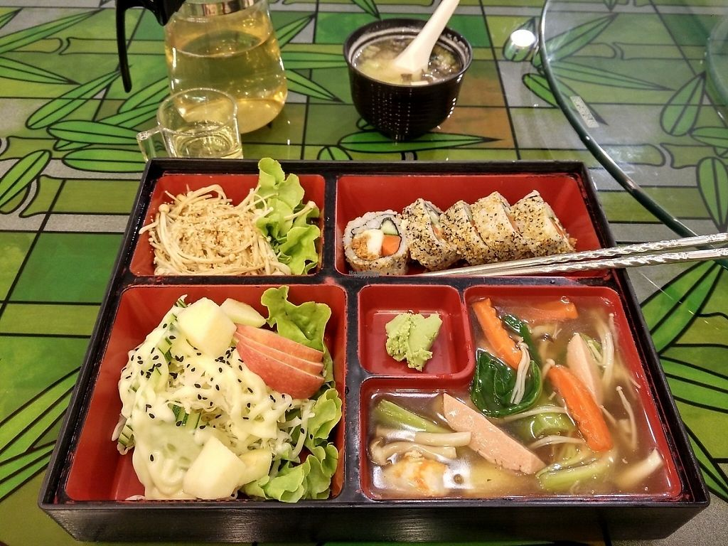 "Photo of Japanese Vegetarian Restaurant  by <a href=""/members/profile/LaraMorbey"">LaraMorbey</a> <br/>Bento box <br/> February 5, 2017  - <a href='/contact/abuse/image/54771/222766'>Report</a>"