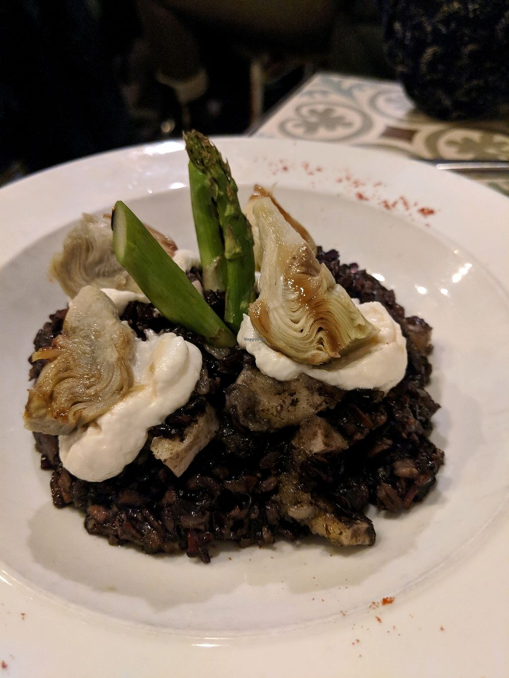 """Photo of VEGA  by <a href=""""/members/profile/Heners37"""">Heners37</a> <br/>black rice with """"squid"""" <br/> March 31, 2018  - <a href='/contact/abuse/image/54785/378611'>Report</a>"""