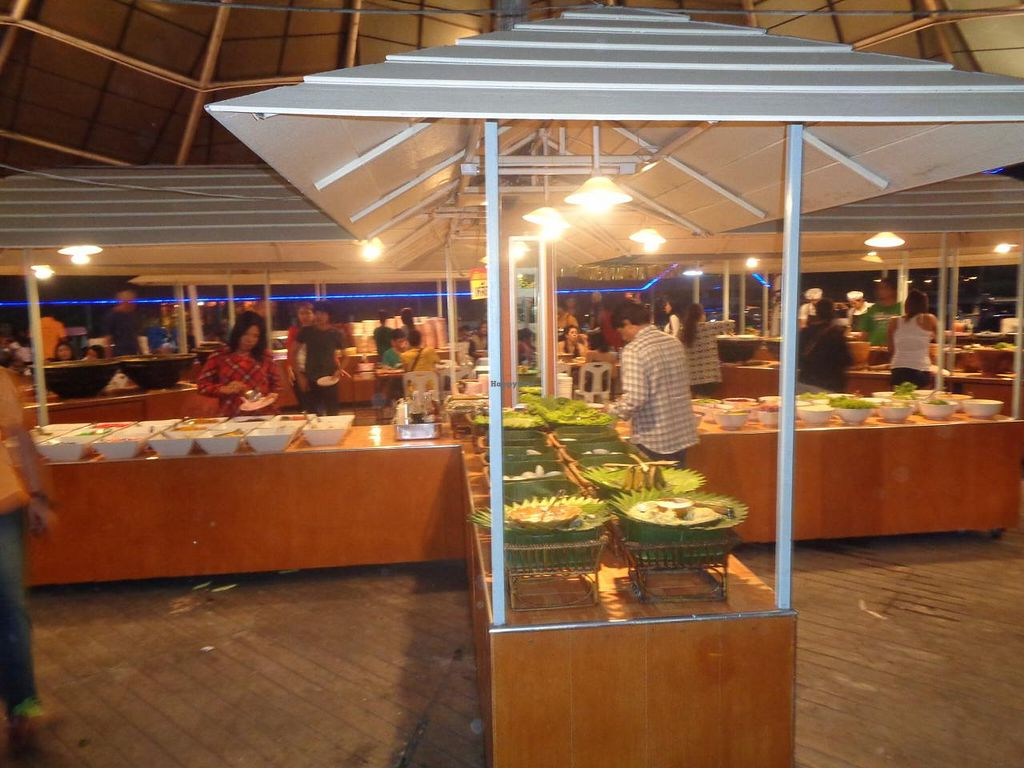 "Photo of Market Buffet  by <a href=""/members/profile/Kelly%20Kelly"">Kelly Kelly</a> <br/>Largest selection I have ever seen at a buffet and all for 239 Baht ($7 US) <br/> January 23, 2015  - <a href='/contact/abuse/image/54800/91100'>Report</a>"