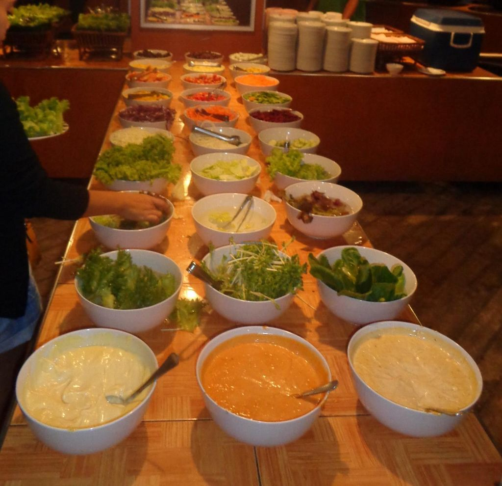 "Photo of Market Buffet  by <a href=""/members/profile/Kelly%20Kelly"">Kelly Kelly</a> <br/>Largest selection I have ever seen at a buffet and all for 239 Baht ($7 US) <br/> January 23, 2015  - <a href='/contact/abuse/image/54800/91102'>Report</a>"