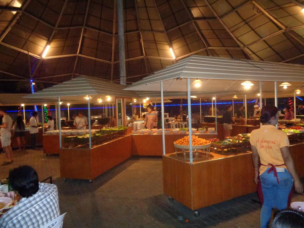 "Photo of Market Buffet  by <a href=""/members/profile/Kelly%20Kelly"">Kelly Kelly</a> <br/>Largest selection I have ever seen at a buffet and all for 239 Baht ($7 US) <br/> January 23, 2015  - <a href='/contact/abuse/image/54800/91106'>Report</a>"