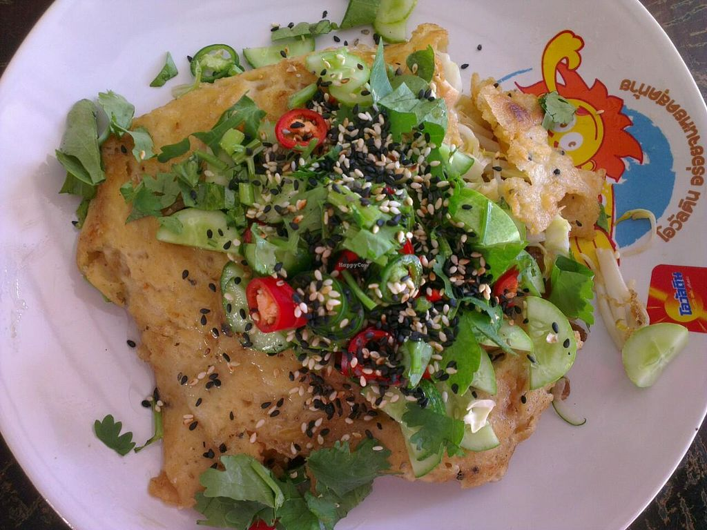 """Photo of CLOSED: Keereboon Vegetarian Food  by <a href=""""/members/profile/jeroenkusters"""">jeroenkusters</a> <br/>Vietnamese roti, our favourite <br/> January 22, 2015  - <a href='/contact/abuse/image/54802/91049'>Report</a>"""