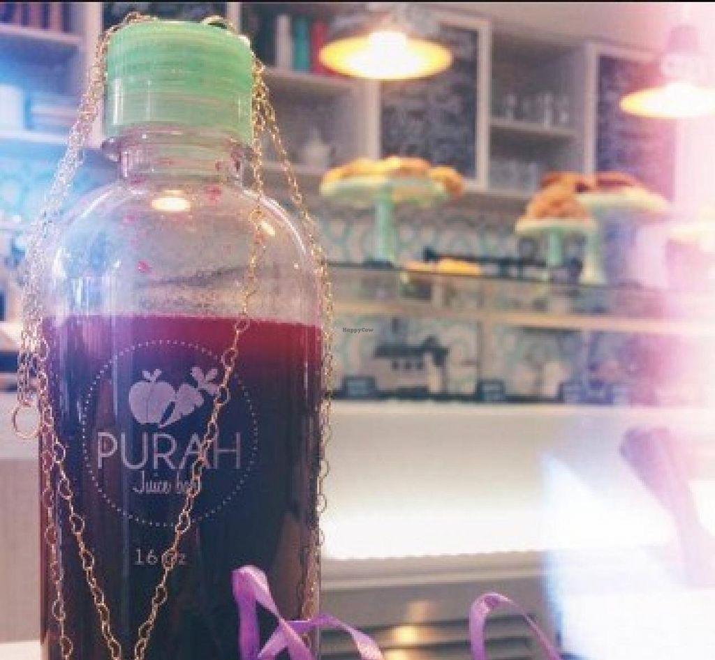 "Photo of Purah Juice Bar  by <a href=""/members/profile/community"">community</a> <br/>Purah Juice Bar <br/> January 17, 2015  - <a href='/contact/abuse/image/54804/90557'>Report</a>"