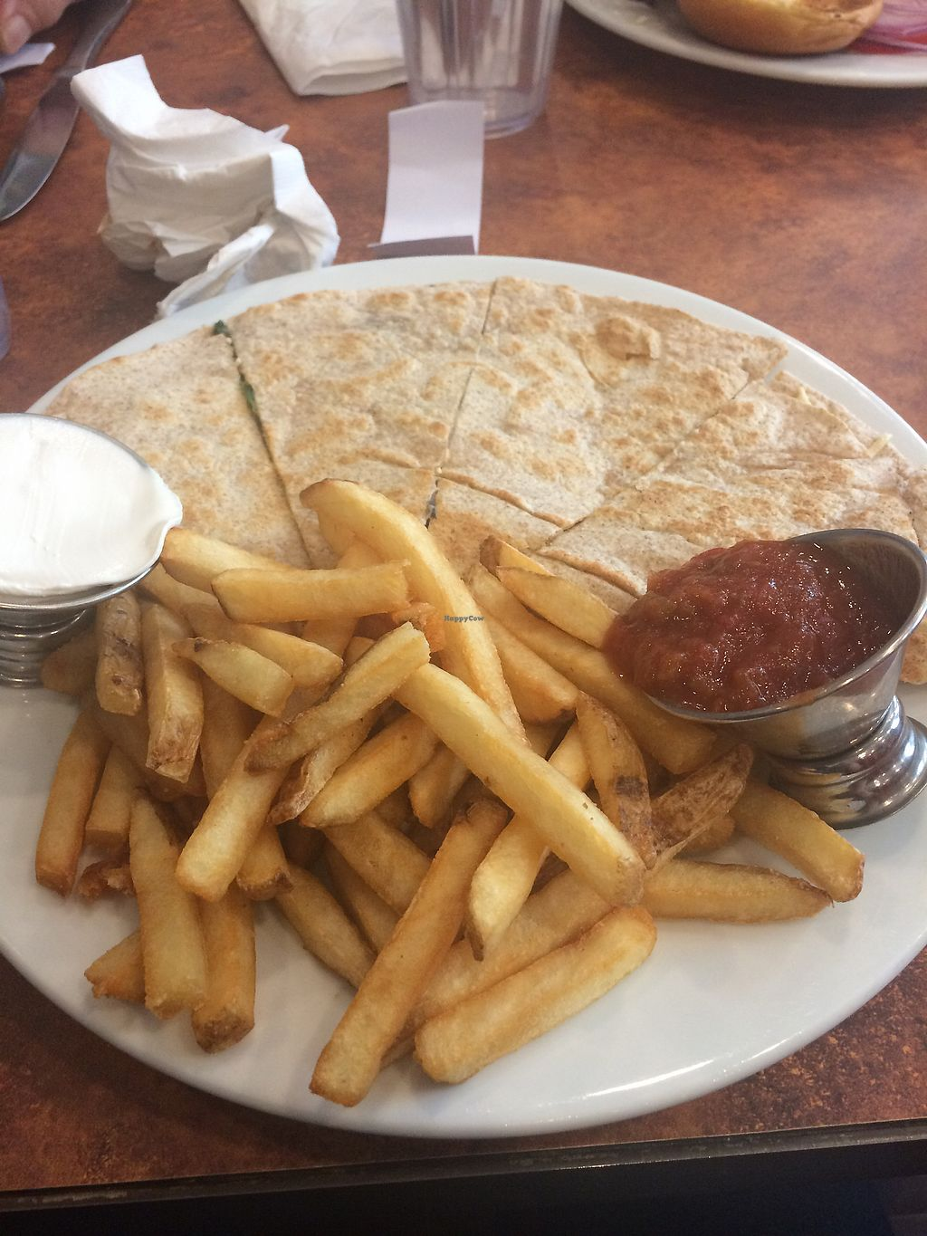 "Photo of Morristown Pancake House  by <a href=""/members/profile/cassienat"">cassienat</a> <br/>veggie quesadillas  <br/> September 2, 2017  - <a href='/contact/abuse/image/54830/299872'>Report</a>"