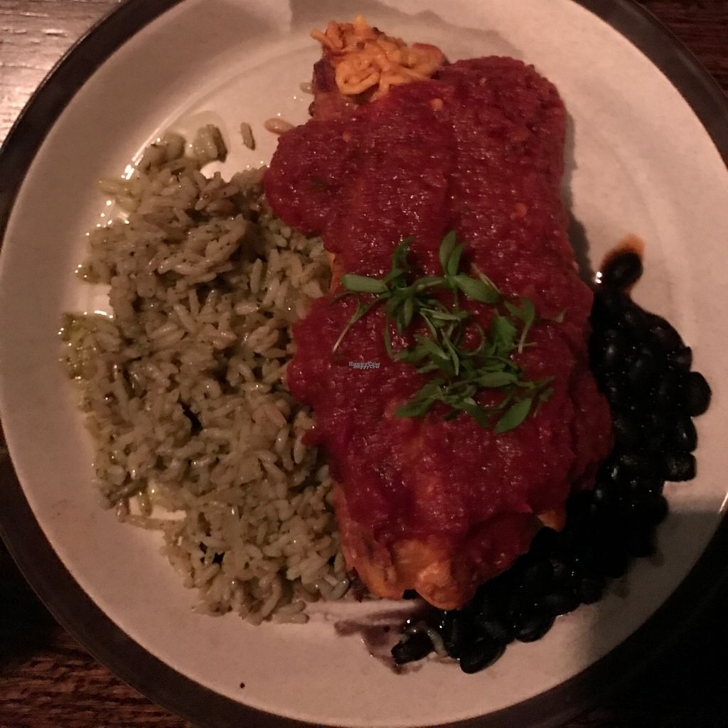 "Photo of Sovereign  by <a href=""/members/profile/HeartStrong"">HeartStrong</a> <br/>Vegan enchiladas <br/> October 15, 2016  - <a href='/contact/abuse/image/54854/182143'>Report</a>"