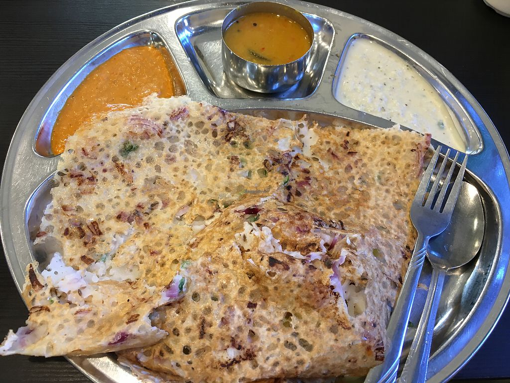 "Photo of Udipi Ganesh Vilas Pure Vegetarian  by <a href=""/members/profile/Simrk"">Simrk</a> <br/>Rava Onion Masala dosa <br/> January 31, 2018  - <a href='/contact/abuse/image/54868/353013'>Report</a>"