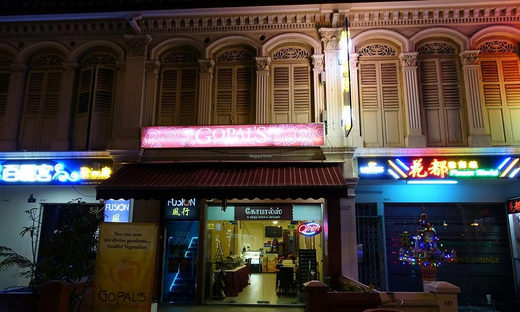 """Photo of Gopal's Vegetarian Restaurant  by <a href=""""/members/profile/JimmySeah"""">JimmySeah</a> <br/>shop front  <br/> January 19, 2015  - <a href='/contact/abuse/image/54869/90680'>Report</a>"""
