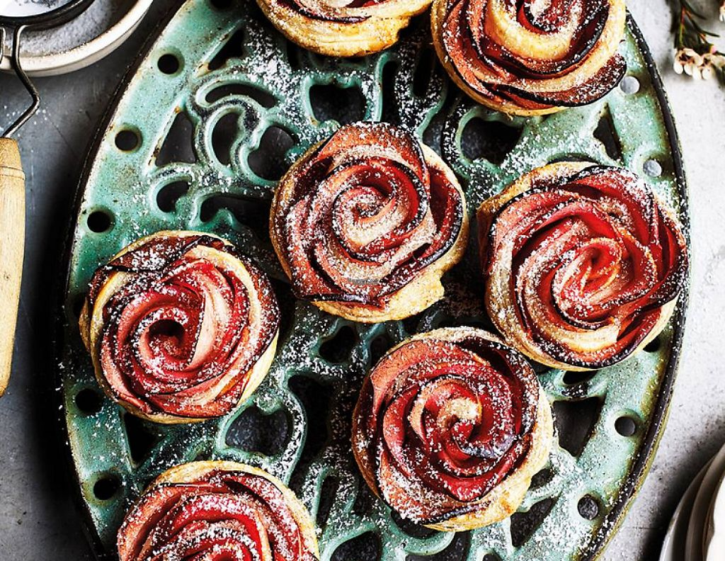 """Photo of Sainsbury's  by <a href=""""/members/profile/community"""">community</a> <br/>Apple Rose Tarts <br/> March 28, 2017  - <a href='/contact/abuse/image/54890/241944'>Report</a>"""