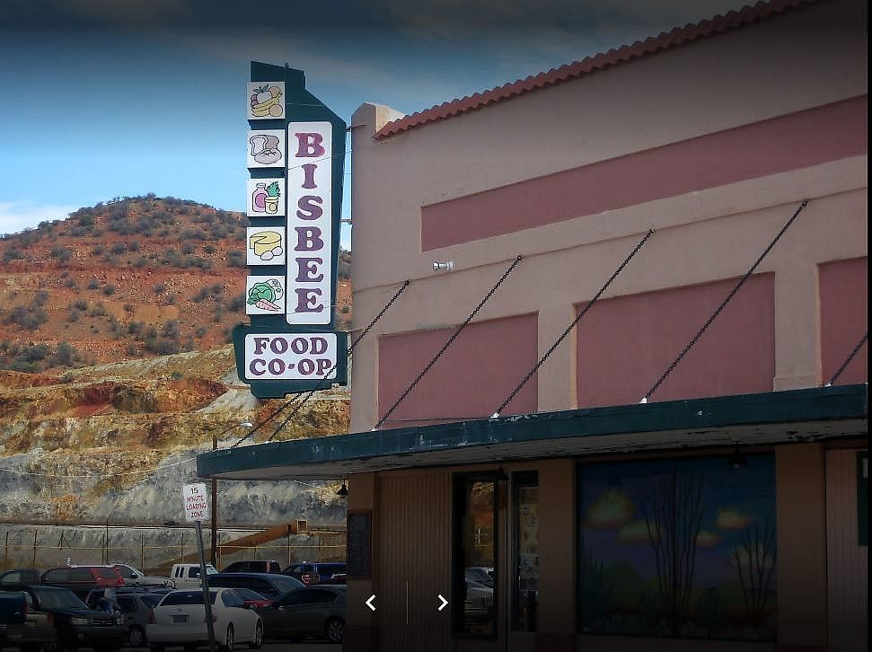 "Photo of Bisbee Food Co-op  by <a href=""/members/profile/David_Hedges"">David_Hedges</a> <br/>Bisbee Food Co-op <br/> August 18, 2017  - <a href='/contact/abuse/image/5491/294126'>Report</a>"