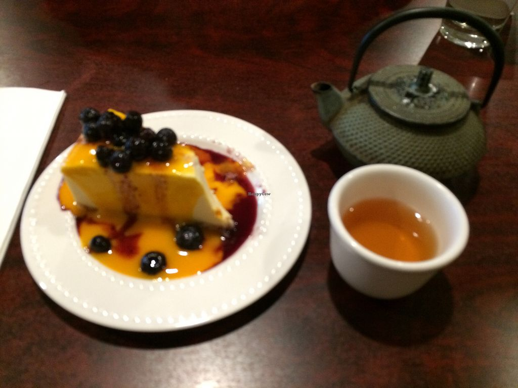 """Photo of Teapot Vegetarian House  by <a href=""""/members/profile/Arti"""">Arti</a> <br/>Tofu cheese cake <br/> August 1, 2017  - <a href='/contact/abuse/image/5492/287474'>Report</a>"""