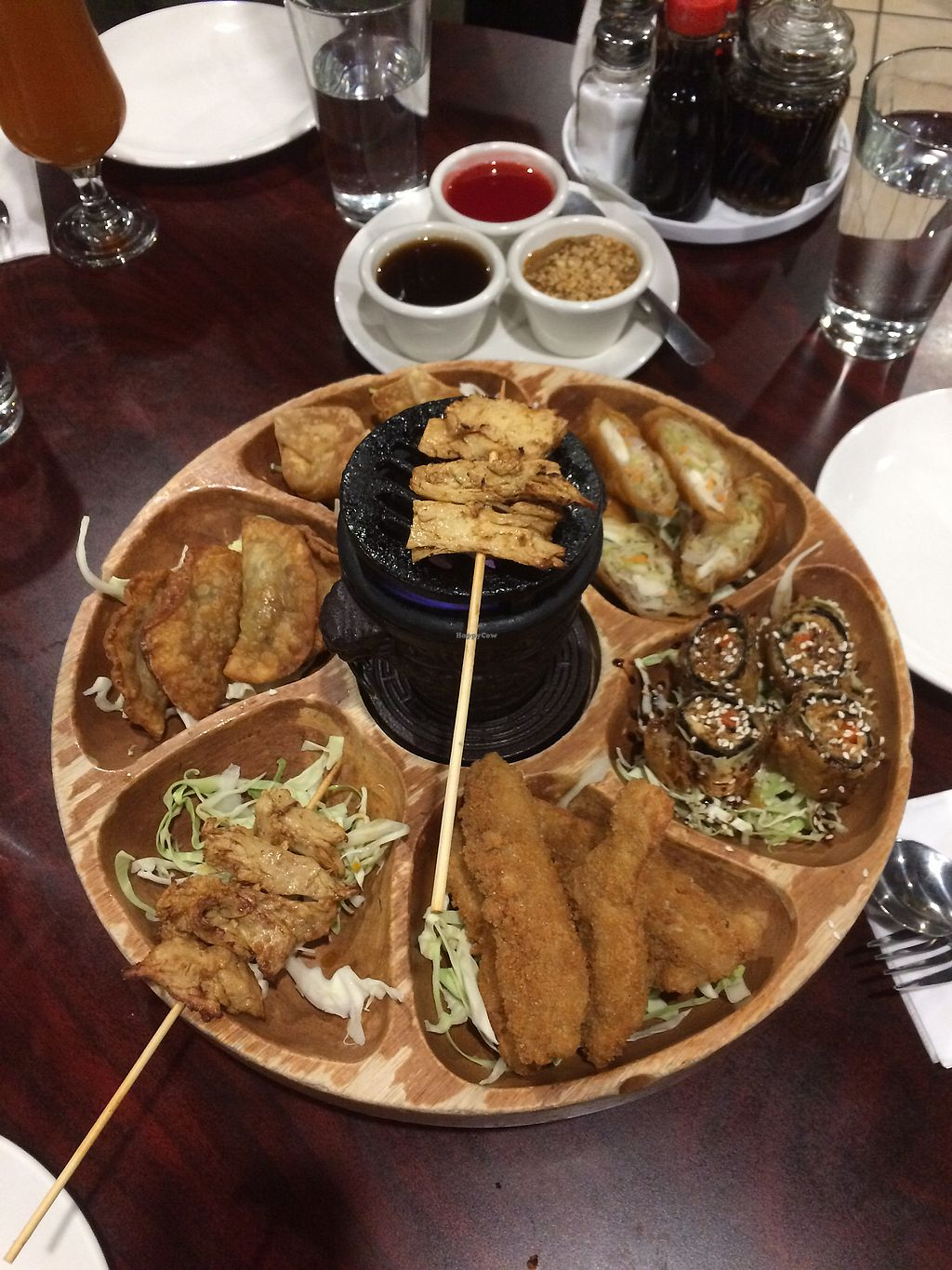 """Photo of Teapot Vegetarian House  by <a href=""""/members/profile/Arti"""">Arti</a> <br/>Bo bo platter - big portion size, good for sharing <br/> December 16, 2017  - <a href='/contact/abuse/image/5492/336146'>Report</a>"""
