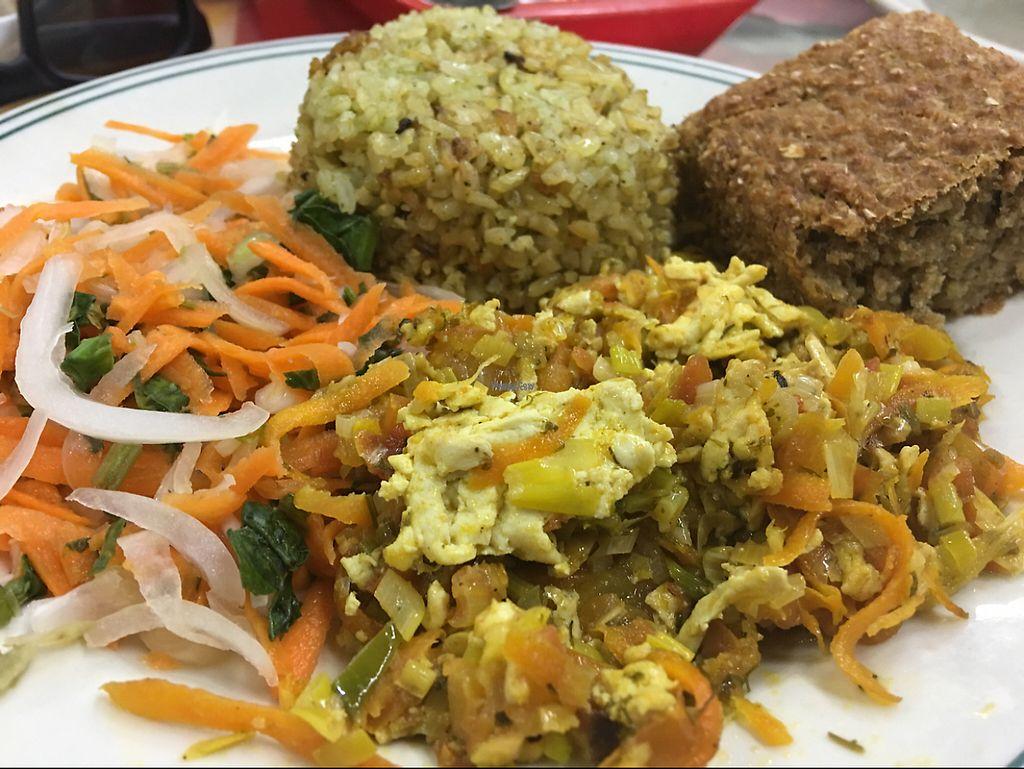 "Photo of Cocina Vegetariana  by <a href=""/members/profile/jasonxkeller"">jasonxkeller</a> <br/>menu del día <br/> February 4, 2017  - <a href='/contact/abuse/image/54935/222411'>Report</a>"