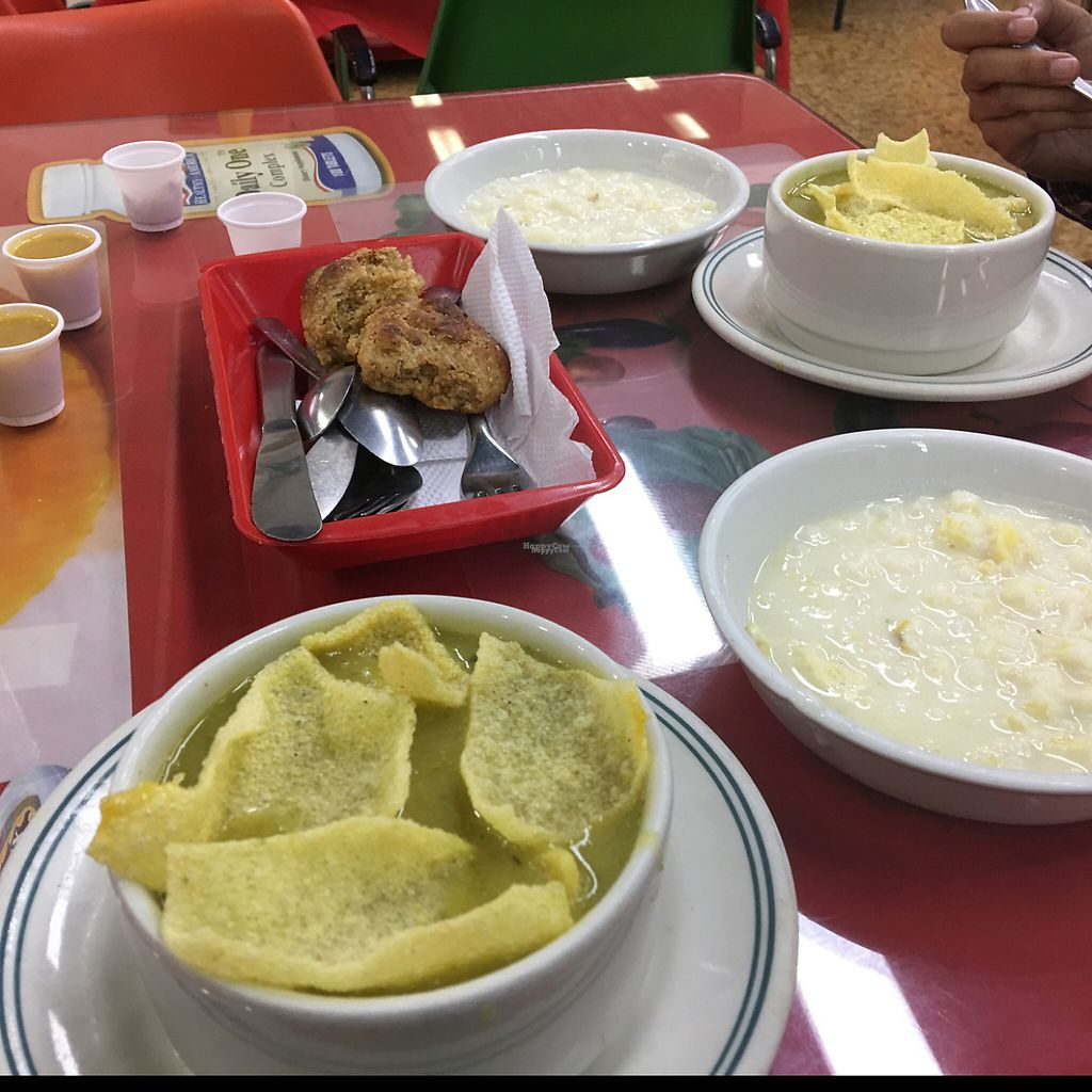 """Photo of Cocina Vegetariana  by <a href=""""/members/profile/jasonxkeller"""">jasonxkeller</a> <br/>this soup was out of this world! yum! <br/> February 4, 2017  - <a href='/contact/abuse/image/54935/222412'>Report</a>"""